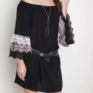 UMGEE USA Mini Boho Cowgirl Western Dress Size Med